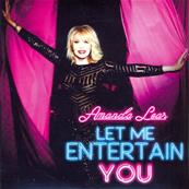 LET ME ENTERTAIN YOU / AMANDA LEAR / CD PROMO + CARTE / FRANCE 2016