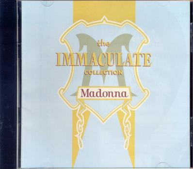 THE IMMACULATE COLLECTION / CD PHILIPPINES