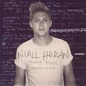NIALL HORAN (ONE DIRECTION) / THIS TOWN / TIESTO REMIX / CD SINGLE PROMO FRANCE 2016