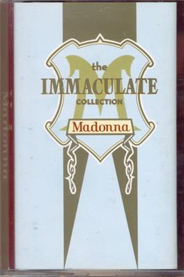 THE IMMACULATE COLLECTION / K7 ALBUM SINGAPOUR