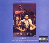 PRINCE / CREAM / CDS 9 TITRES USA 1991