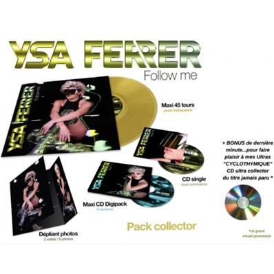 FOLLOW ME / YSA FERRER / PACK COLLECTOR / FRANCE 2019