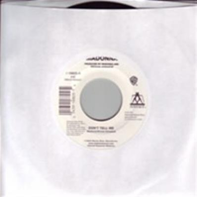 DON'T TELL ME / 45T 7 INCH USA