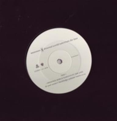 DROWNED WORLD - SUBSTITUTE FOR LOVE / MAXI 12 INCH PROMO UK