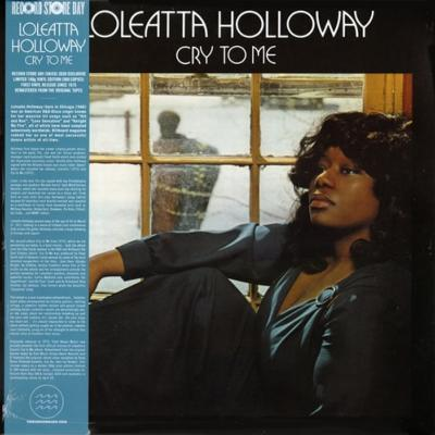 LOLEATTA HOLLOWAY / CRY TO ME / 33 TOURS LP / DISQUAIRE DAY 2020