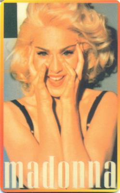 MADONNA / CARTE TELEPHONE / PHONE CARD USA N°16