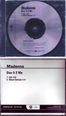 GIVE IT 2 ME / EDIT + ALBUM VERSION / CDS PROMO USA