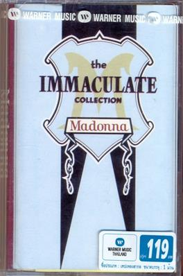 THE IMMACULATE COLLECTION / K7 ALBUM THAILANDE (1)