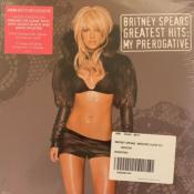 GREATEST HITS: MY PREROGATIVE / BRITNEY SPEARS / 2 x LPs 33 TOURS CLEAR MARBRE NOIR ET BLANC / URBAN OUTFITTERS USA 2020