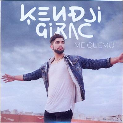 KENDJI GIRAC / ME QUEMO / CD SINGLE PROMO 2015