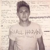 NIALL HORAN (ONE DIRECTION) / THIS TOWN / CD SINGLE PROMO FRANCE 2016