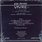 VIVRE / YSA FERRER / CDS / FRANCE 2019