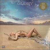 GLORY / BRITNEY SPEARS / LP 33 TOURS VINYLE BLANC + DRAPEAU / USA