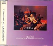 PRINCE / CREAM / CDS 3 TITRES EUROPE 1991