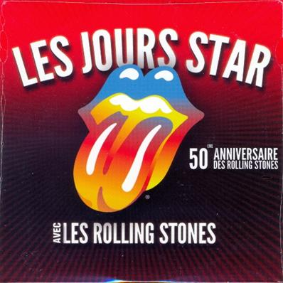 ROLLING STONES / LES JOURS STAR / CD SINGLE PROMO FRANCE 2012