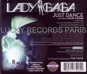 LADY GAGA / JUST DANCE MAXI CD 4 x REMIXES / USA