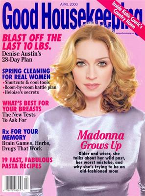 MAGAZINE GOOD HOUSEKEEPING / AVRIL 2000 USA
