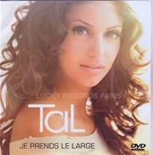 TAL / JE PRENDS LE LARGE / DVDR SINGLE PROMO FRANCE