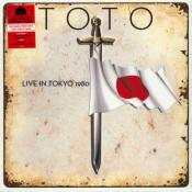 TOTO / LIVE IN TOKYO 1980 / 33 TOURS LP VINYLE ROUGE / DISQUAIRE DAY 2020