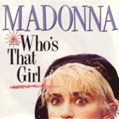 WHO'S THAT GIRL / WHITE HEAT / 45T 7 INCH FRANCE