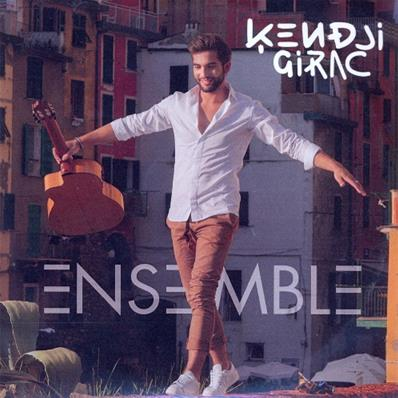 KENDJI GIRAC / ENSEMBLE / CD ALBUM PROMO 6 TITRES 2015
