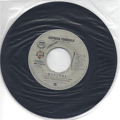 EXPRESS YOURSELF / THE LOOK OF LOVE / 45T 7 INCH PHILIPPINES