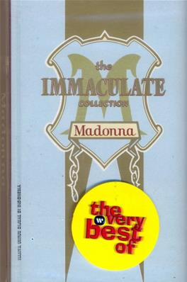 THE IMMACULATE COLLECTION / K7 ALBUM INDONESIE
