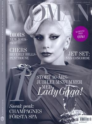 LADY GAGA / MAGAZINE WOMAN / DANEMARK N° 4 2018