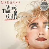 WHO'S THAT GIRL / MADONNA / LP 33T 180 GR. CLEAR VINYL / EDITION 2019 EUROPE