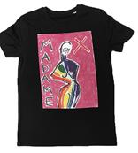 T-SHIRT MX PRIDE PINK TAILLE S MADAME X / MAE COUTURE MADONNA EXCLUSIVITE 2020