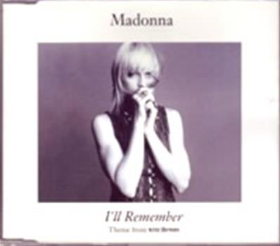 I'LL REMEMBER / CDS ALLEMAGNE
