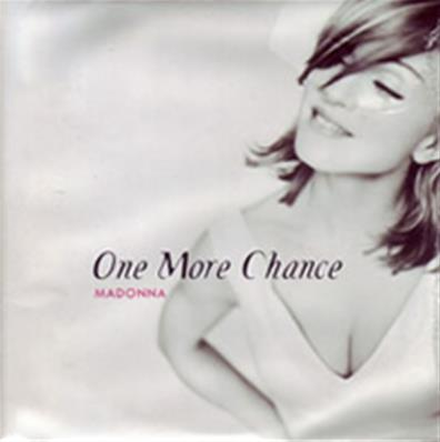 ONE MORE CHANCE / CDS POCHETTE POSTER UK