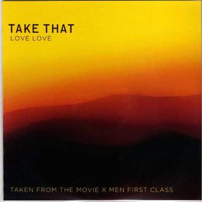 LOVE LOVE / TAKE THAT CDR SINGLE PROMO FRANCE