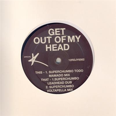 CAN'T GET YOU OUT OF MY HEAD / MAXI 12 INCH PROMO UK