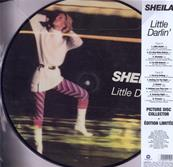 LITTLE DARLIN' / SHEILA / 33T LP PICTURE DISC 2016