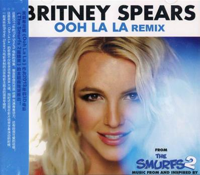 OOH LA LA / CD MAXI REMIX / B.O FILM THE SMURFS 2 / CHINE 2013