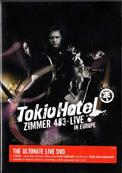ZIMMER 483 LIVE IN EUROPE / TOKIO HOTEL / 2 x DVD EUROPE