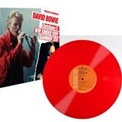 DAVID BOWIE / CHRISTIANE F. B.O. FILM / 33 TOURS L.P. VINYLE ROUGE / UK 2018