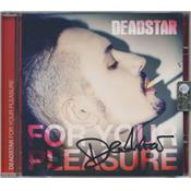FOR YOUR PLEASURE / DEADSTAR Feat. AMANDA LEAR / CD ITALIE 2014