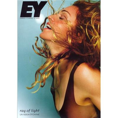 LIVRE MADONNA EY - EXPRESS YOURSELF LE MAG N°12 / FRANCE 2017
