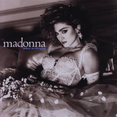 LIKE A VIRGIN / MADONNA / 33T LP 180 GR. / REEDITION 2012 EUROPE