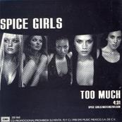 SPICE GIRLS / TOO MUCH / CD SINGLE PROMO MEXIQUE 1998