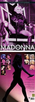 CALENDRIER MADONNA OFFICIEL DANILO 2010 / UK