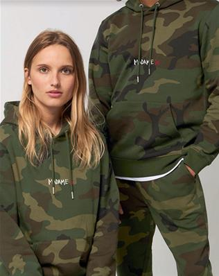 SWEAT CAMOUFLAGE TAILLE L MADAME X / MAE COUTURE MADONNA EXCLUSIVITE 2020