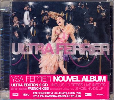 ULTRA FERRER / CD ALBUM DOUBLE