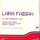 LA DIFFERENCE / CDS PROMO