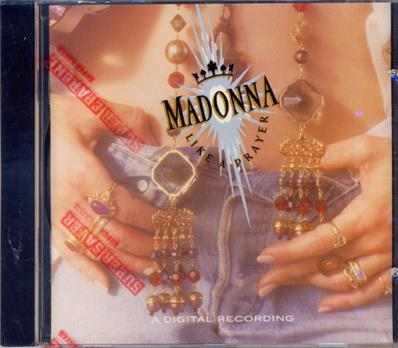 LIKE A PRAYER / CD ALBUM CANADA