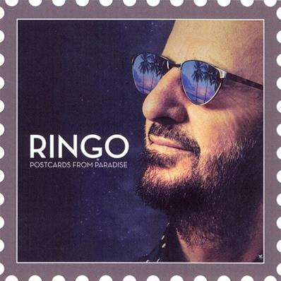RINGO STARR (THE BEATLES) POSTCARDS FROM PARADISE / CD SINGLE PROMO FRANCE 2016