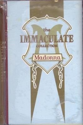 THE IMMACULATE COLLECTION / K7 ALBUM MALAISIE (2)