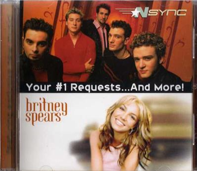 YOUR #1 REQUESTS...AND MORE! / BRITNEY SPEARS / NSYNC / CD PROMO USA